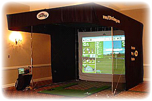 Golf Simulator for Training