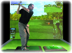 Golf Simulator for Events